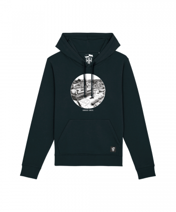 Hamburg Towers - City - Unisex Hoodie - schwarz