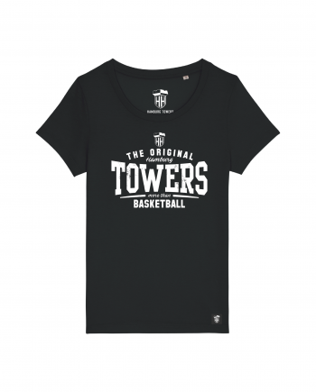 Hamburg Towers - The Original - Damen T-Shirt - Schwarz