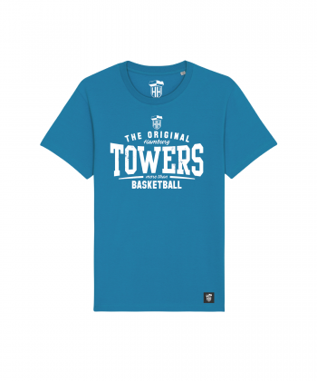 Hamburg Towers - The Original - Unisex T-Shirt - Azur