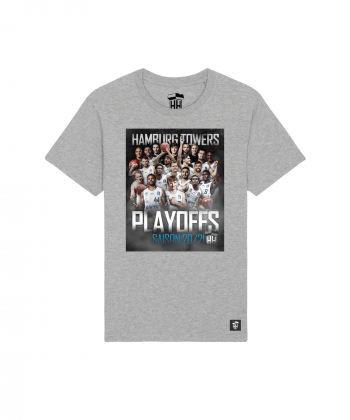 T-Shirt Hamburg Towers Basketball Playoffs 2020 2021 Unisex